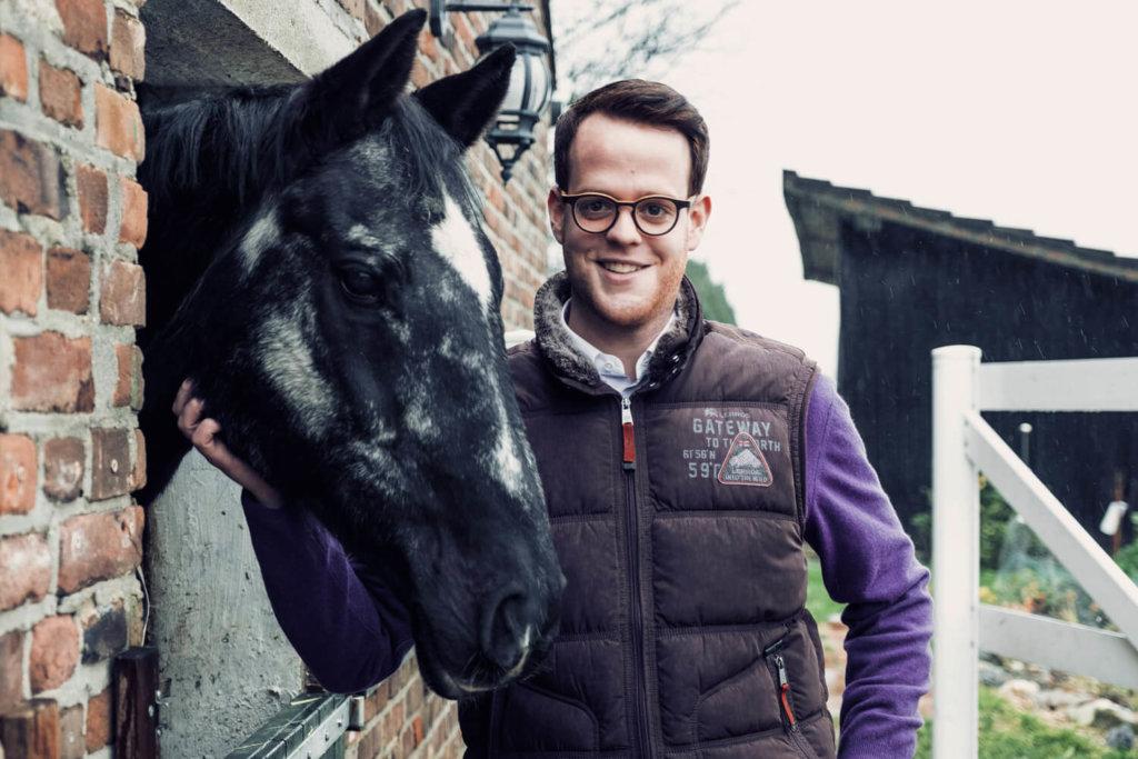Daniel Jokisch - Gründer Reiter&Ross Pferdeversicherungen und Versicherungen für Pferde