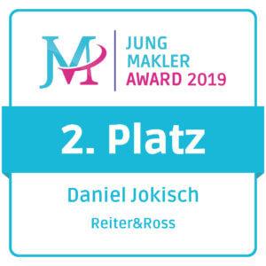 Jungmakler Award 2019 2. Platz Daniel Jokisch