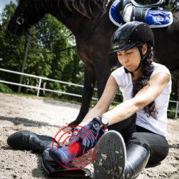 Reitunfall, versichert durch Reiterunfallversicherung
